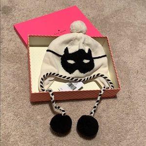 Kate Spade Cat Burglar beanie/hat